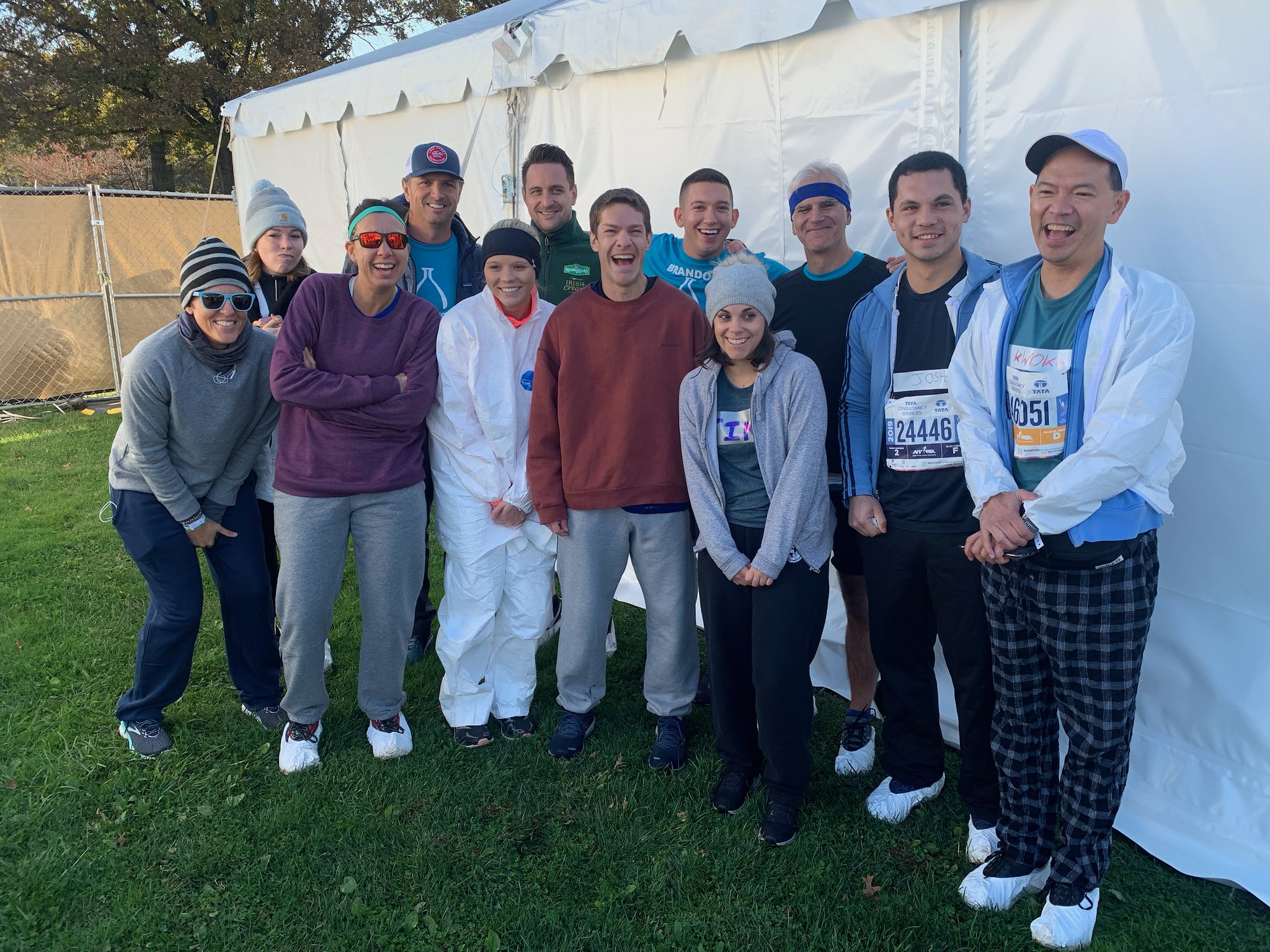 Team LCRF runs TCS NYC Marathon for lung cancer research