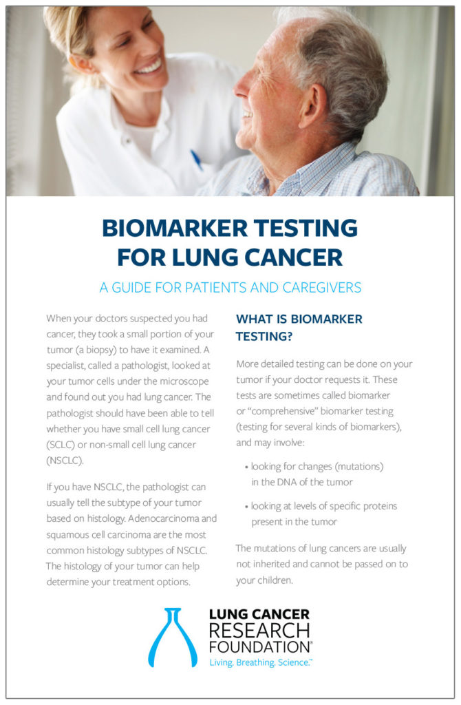 biomarker testing for lung cancer