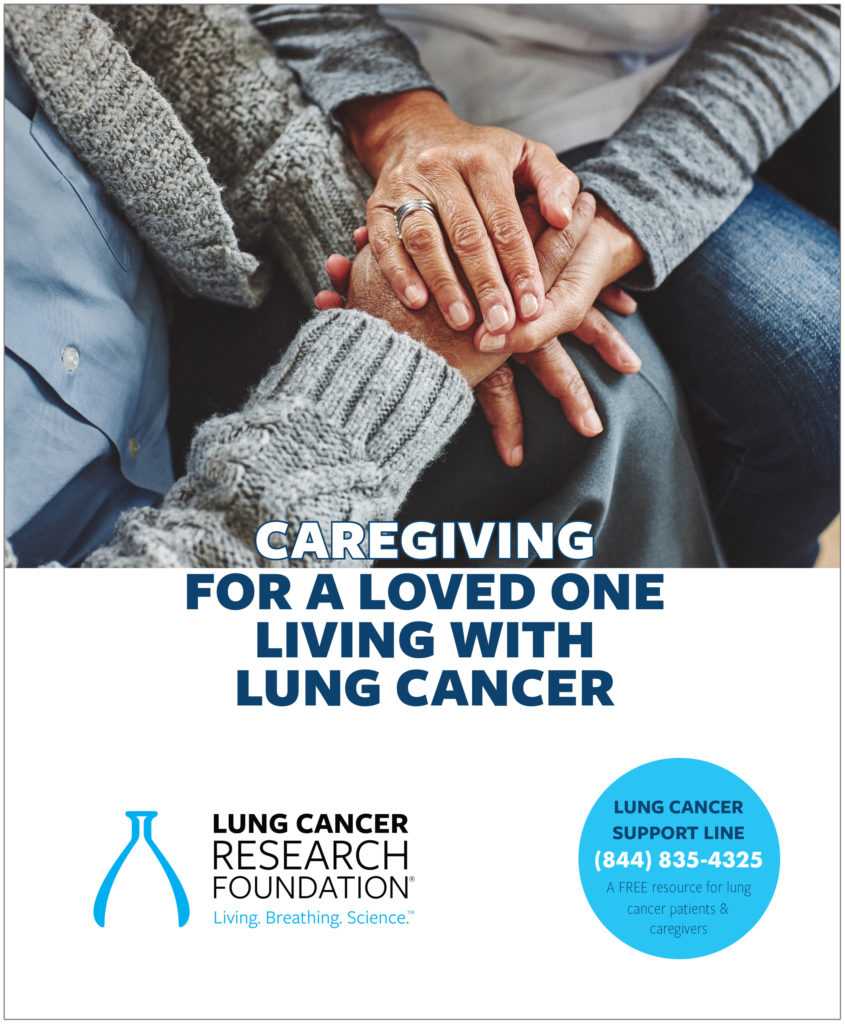 Caregiving for a loved one with lung cancer
