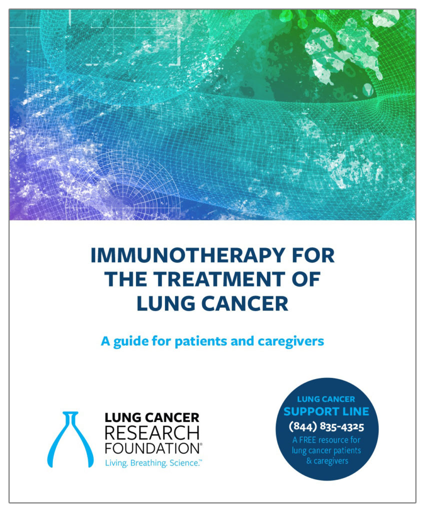 immunotherapy for the treatment of lung cancer
