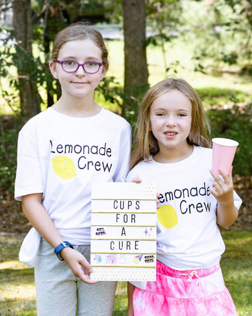 Lemonade Cups for a Cure