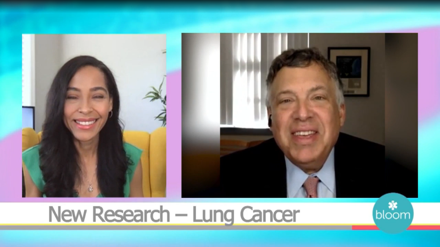 Dr. Herbst featured in segment on lung cancer research
