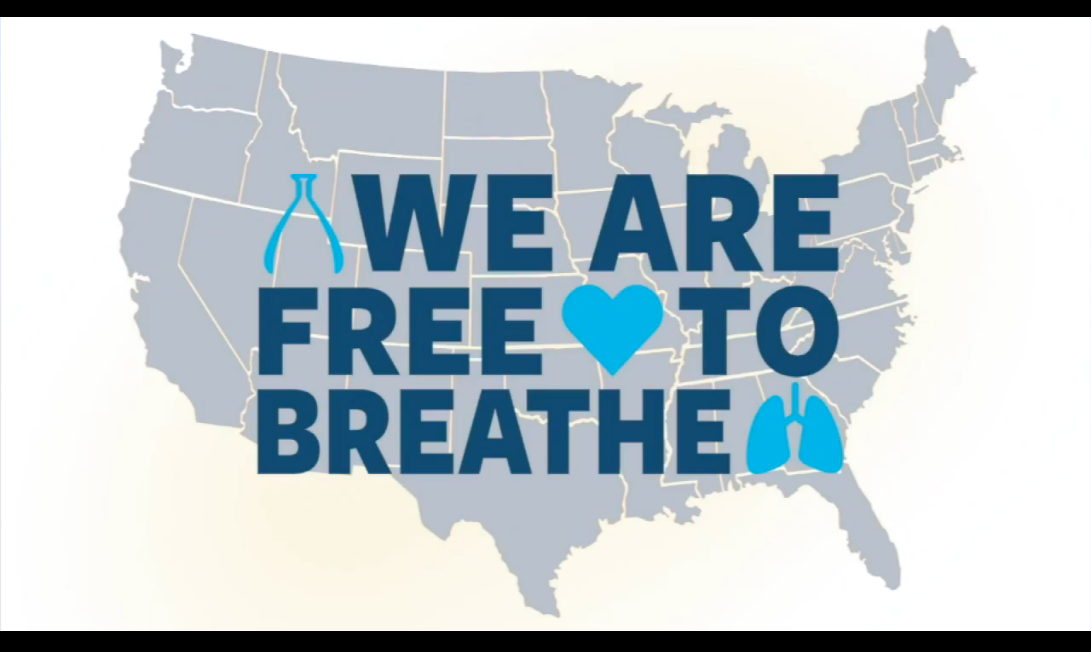 LCRF holds virtual Free to Breathe Walk