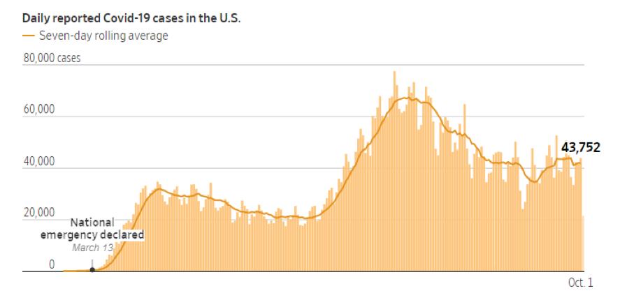 Daily COVID-19 Cases Graph