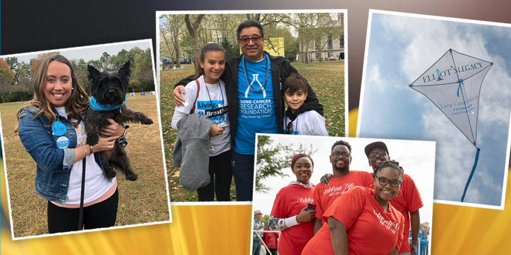 Lung Cancer Research Foundation Fundraising Events