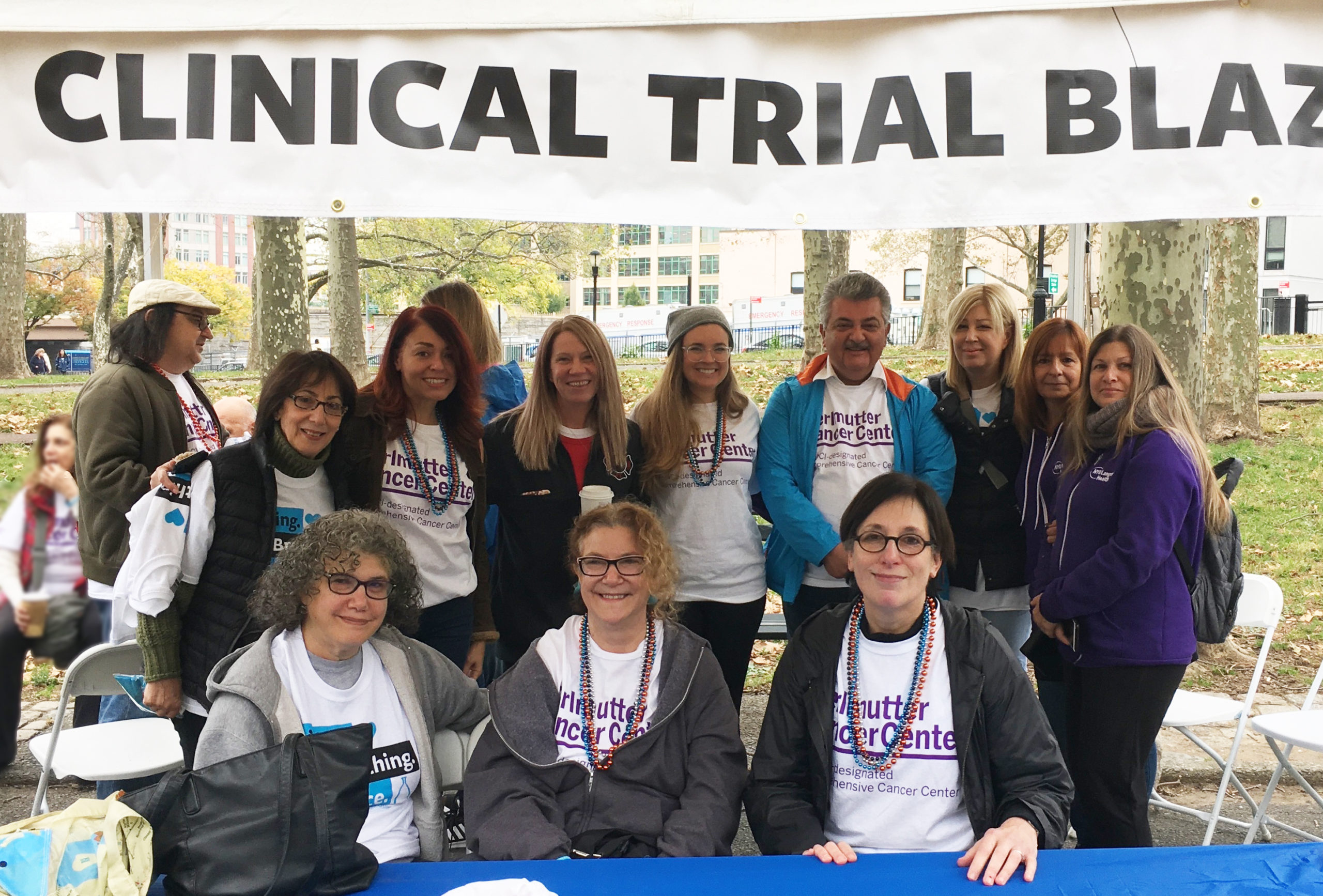 Team captain grows Clinical Trial Blazers to 175+ members