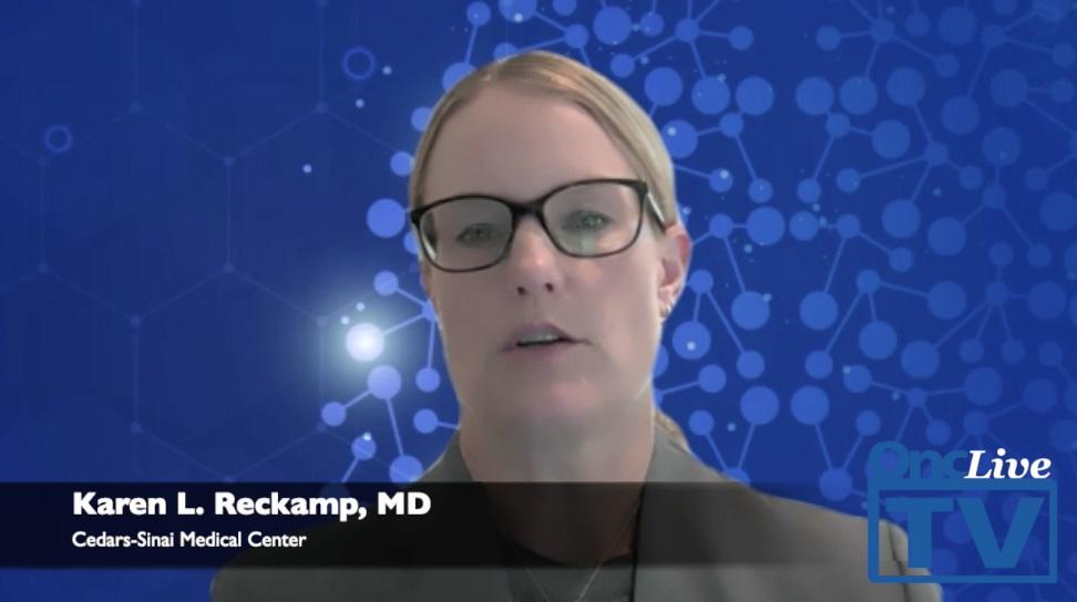 Dr. Reckamp discusses results of ALTA trials