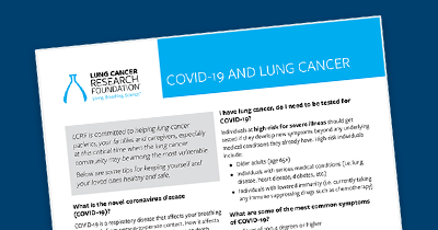 Lung Cancer Info Sheet