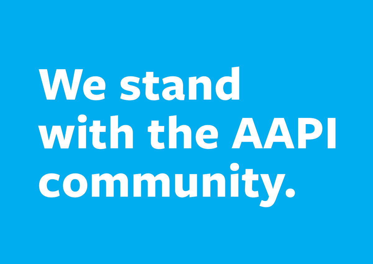 LCRF statement supporting the AAPI community